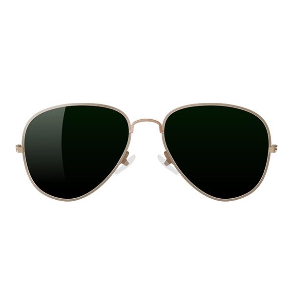 Mask featuring aviators, or sunglasses